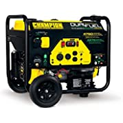 Review for Champion Power Equipment 76533 3800 Watt Dual Fuel RV Ready Portable Generator with Electric Start Check Price