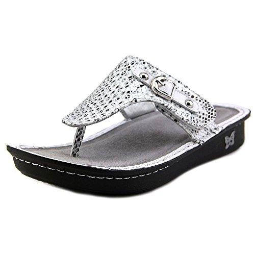 Alegria Women's Vanessa Posh Silver Sandal 35 (US Women's...