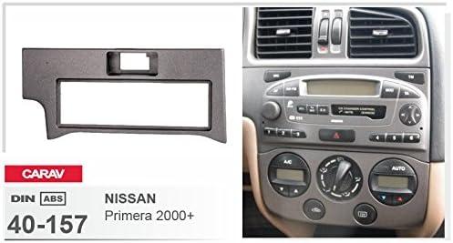 CARAV 40-157-18-6 1-DIN Marco de pl/ástico para Radio
