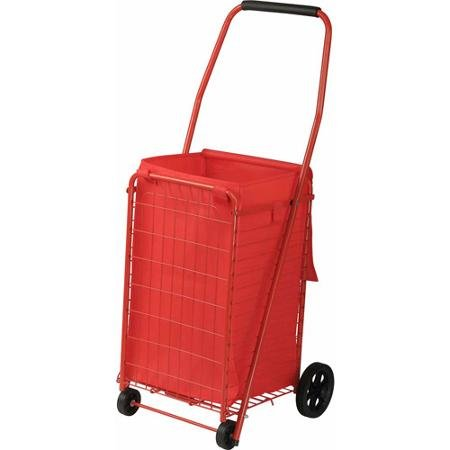 Sandusky 4-Wheel Folding Cart with Liner, FSC3012 by Officesaleman (Image #1)