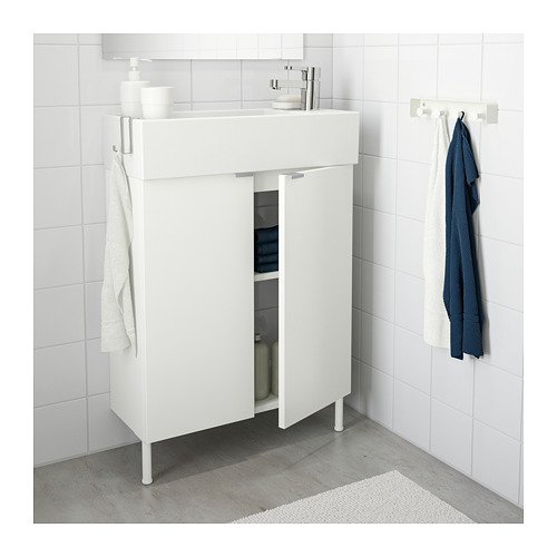 Ikea Sink cabinet with 2 doors, white by ikeaa