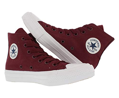 Top and Canvas Navy Durable Unisex Style Deep in High Bordeaux Casual Color Star and All Uppers Converse Taylor Sneakers Chuck White Classic ZY4wa66q