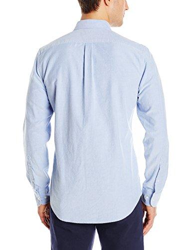Goodthreads men 39 s slim fit long sleeve solid oxford shirt for Mens medium long sleeve shirts