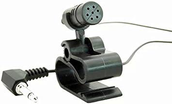 Goliton DVD para coche con pinza micrófono externo con para Pioneer CPM1084 CPM1083 - negro