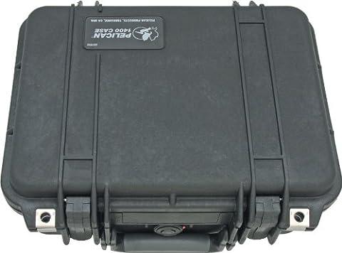 Pelican 1400 Case With Foam (Black) (Cover De Lg 70)