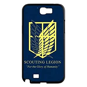 Qxhu Scouting Legion patterns Protective Snap On Hard Plastic Case for Samsung Galaxy Note2 N7100