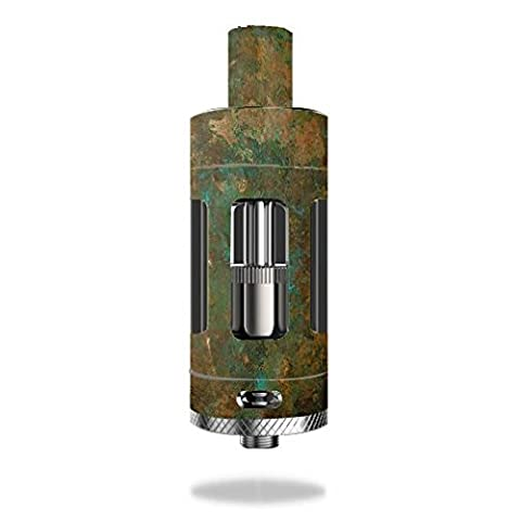 Kangertech Subtank Plus V2 Tank Vape E-Cig Mod Box Vinyl DECAL STICKER Skin Wrap / Weathered Copper (Steel Vapor Mod)