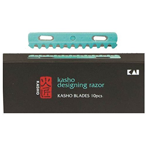 Kasho Hoja Recambio Navaja, Plata, 1, 10 Unidades Kai Europe Gmbh . 4901331007330