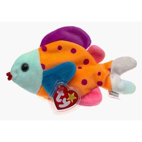 Lips the Fish - MWMT Ty Beanie (Clown Fish Bean Bag)
