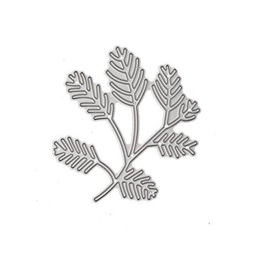 (キッズ ホウス) KIDS HOUSE 葉 DIY 金属切削 ダイスステンシル ダイ カット カードストック バックキャンバスの商品画像