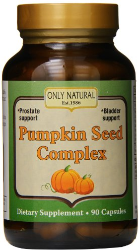 - Only Natural Pumpkin Seed Complex, 700 Mg 90-Count