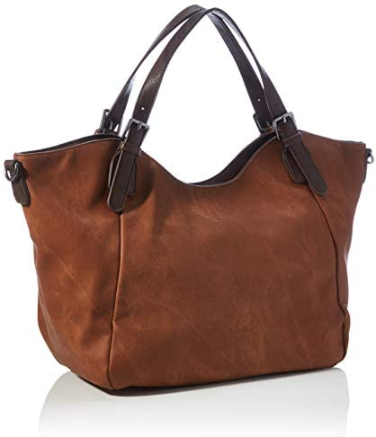 Desigual Womens Accessories Sac à bandoulière en PU Marron