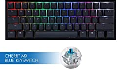 Features:              ♥10 additional PBT double - shot colorful keycaps♥Brand new bezel design and Dual layer PCB♥PBT double - shot seamless keycaps♥Supports Ducky Macro 2.0, the most powerful hardware available in the market...