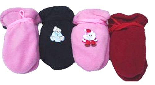 set-of-four-fleece-microfiber-mitten-for-infants-ages-0-6-months