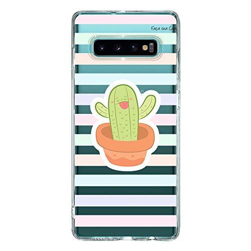 Capa Personalizada Samsung Galaxy S10+ G975 - Cacto - CA04