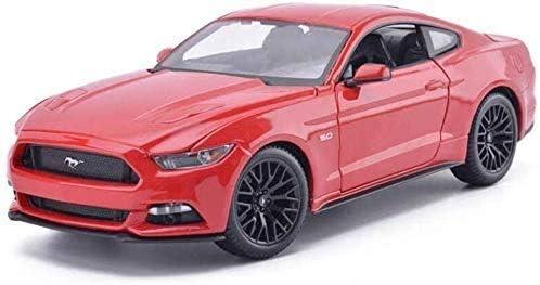 Yxsd モデルカー午前1時18フォードマスタングGTカーの子供のおもちゃの車のモデル合金のシミュレーションカーモデルボーイ25.2x11.2x7.9CMモデルカー