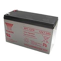 Yuasa NP7-12FR-NP7-12FR FLAME RETARDANT SLA BATTERY 12V 7AH -REPLACES UB1270 / P