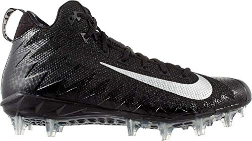 Nike Men's Alpha Menace Pro Mid Football (11) Black/White