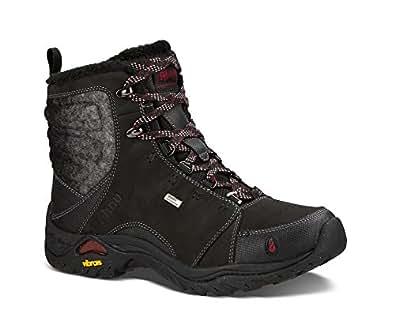 Amazon.com | Ahnu Women's Montara Boot Luxe WP, Black, 6.5