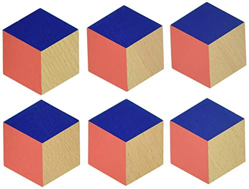 Areaware Table Tiles (Red/Blue)