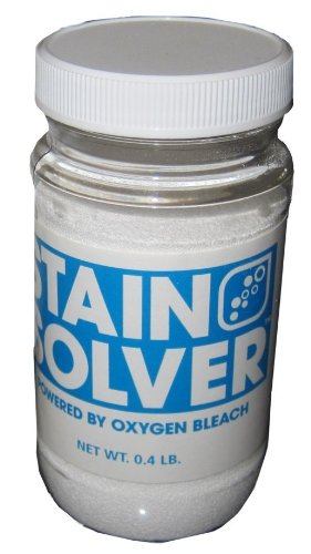 Stain Solver Oxygen Bleach Cleaner (0.4 Pounds) - Bleach Ajax Cleanser Oxygen