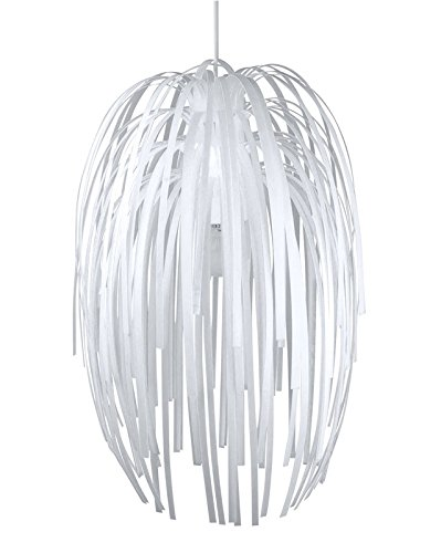 Present Time SY100978WH-110V Silly Fireworks Pendant Lamp, White (Light Confetti Ceiling)