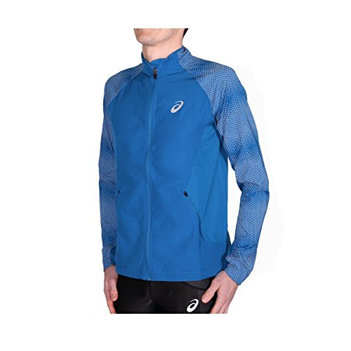 Asics Lite-Show Running Jacket - SS17 - Medium - Blue