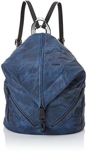 Skunkfunk Mico, Shopper y Bolso de Hombro para Mujer, 15x40x35 cm (W x H x L) Azul (Dark Blue)