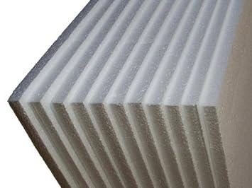 50 hojas de espuma de poliestireno EPS embalaje 1200 x 600 x 25 mm: Amazon.es: Oficina y papelería