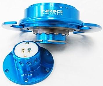 NEW BLUE NRG Steering Wheel Quick Release Hub-Gen 3.0 SRK-650NB
