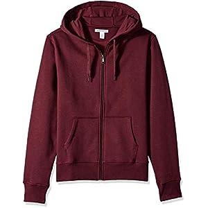 Amazon Essentials Men's Standard Full-Zip Hooded Fleece Sweatshirt