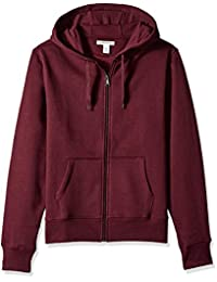 Amazon Essentials mens standard Full-Zip Hooded Sweatshirt