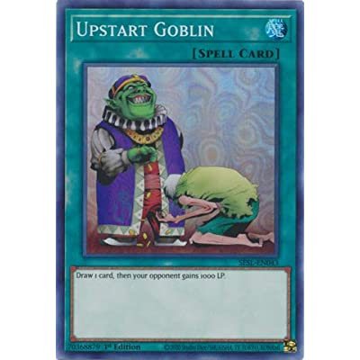 Upstart Goblin - SESL-EN043 - Super Rare - 1st Edition: Toys & Games