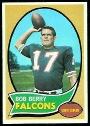 1970 Topps Football Rookie Card #259 Bob Berry Excellent