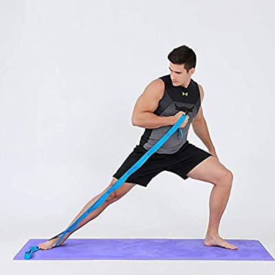 Ablita Yoga Cinturón Pierna Strectching Bandas Elásticas ...