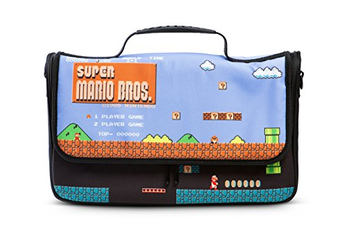 PowerA Everywhere Messenger Bag for Nintendo Switch - Super Mario Bros. - Nintendo Switch