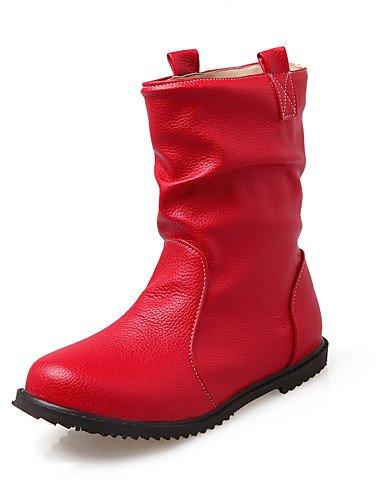 Evénement À La bottes amp; extérieure Mode Bottes Xzz 5 Décontracté Beige us12 Red Homme 5 Rouge Cn47 Jaune talon bottes noir Uk10 Bas Soirée Eu45 D'equitation XZqUxaxw