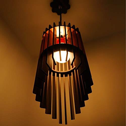 US DZIRE – THE BRAND OF LIFESTYLE 408PLN 15W Ceiling Light, Beige, Natural wood teak, Round