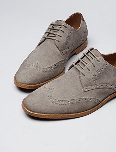 Gris Hombre para Find Grey Óxford Zapatos vwxqgWTOZ