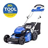 Kobalts 80-Volt Max Brushless Lithium Ion 21-in Cordless Electric Push Lawn Mower (Battery/Charger Not Included)