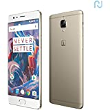 "Oneplus 3 6+64GB Dual SIM 4G LTE 5.5"" Smartphone Or"