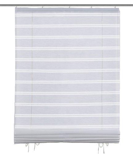 Home fashion 54323-810 Bändchenrollo / Deko Ausbrenner / 140 x 60 cm