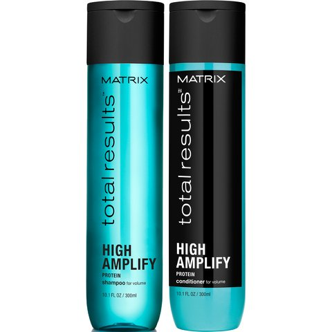 Matrix Total Results High Amplify Shampoo & Conditioner Set, 10.1oz - 300ml Each Amplify By Matrix Volumizing Conditioner