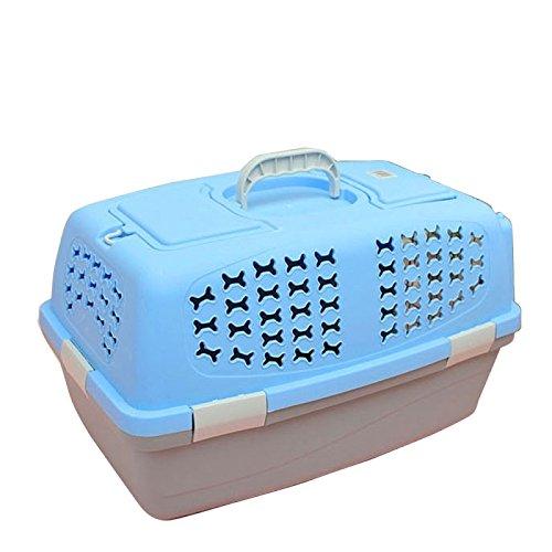 Wewoo Pet para Animal Compañía Airways Box Checked Las Maletas Transporte Equipaje jaulas Gato/Perro y Otros Animales Top con Pozo luz y Agujeros ...