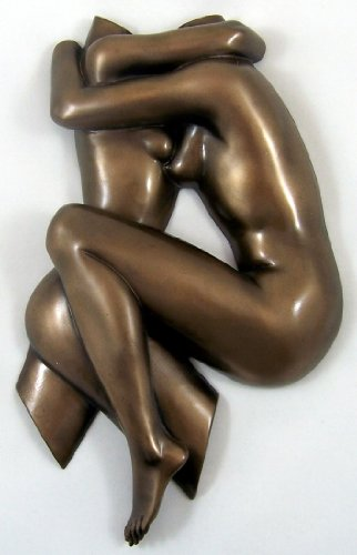 Modern Art Longing Erotic Lesbian Lovers Abstract Wall Plaque   Amazon.co.uk  Kitchen   Home ca872c3e92