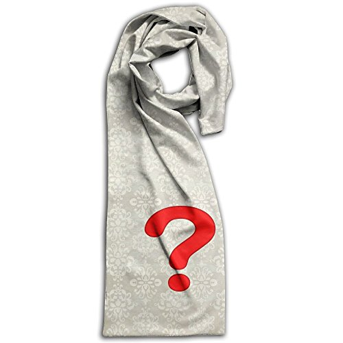 Question Mark Unisex Double Side Printing Fashion Scarves 71
