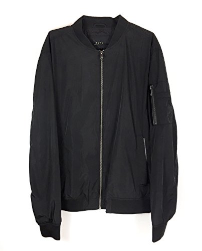 Zara Men Lightweight Bomber Jacket with Contrasting for sale  Delivered anywhere in USA