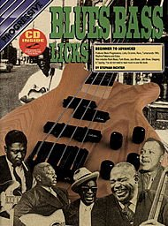 Progressive Blues Bass Licks (Book/CD) - Bass Progressive Blues
