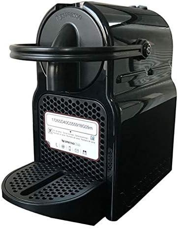 IMBM Nespresso Inissia Pequeño hogar Completamente automática de la cápsula de la máquina de café (Color : Black): Amazon.es: Hogar