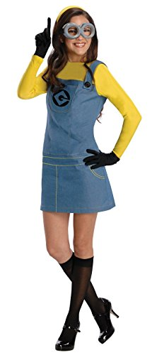 Character Costumes - Rubie's Women's Despicable Me 2 Minion Costume with Accessories, Multicolor, Medium
